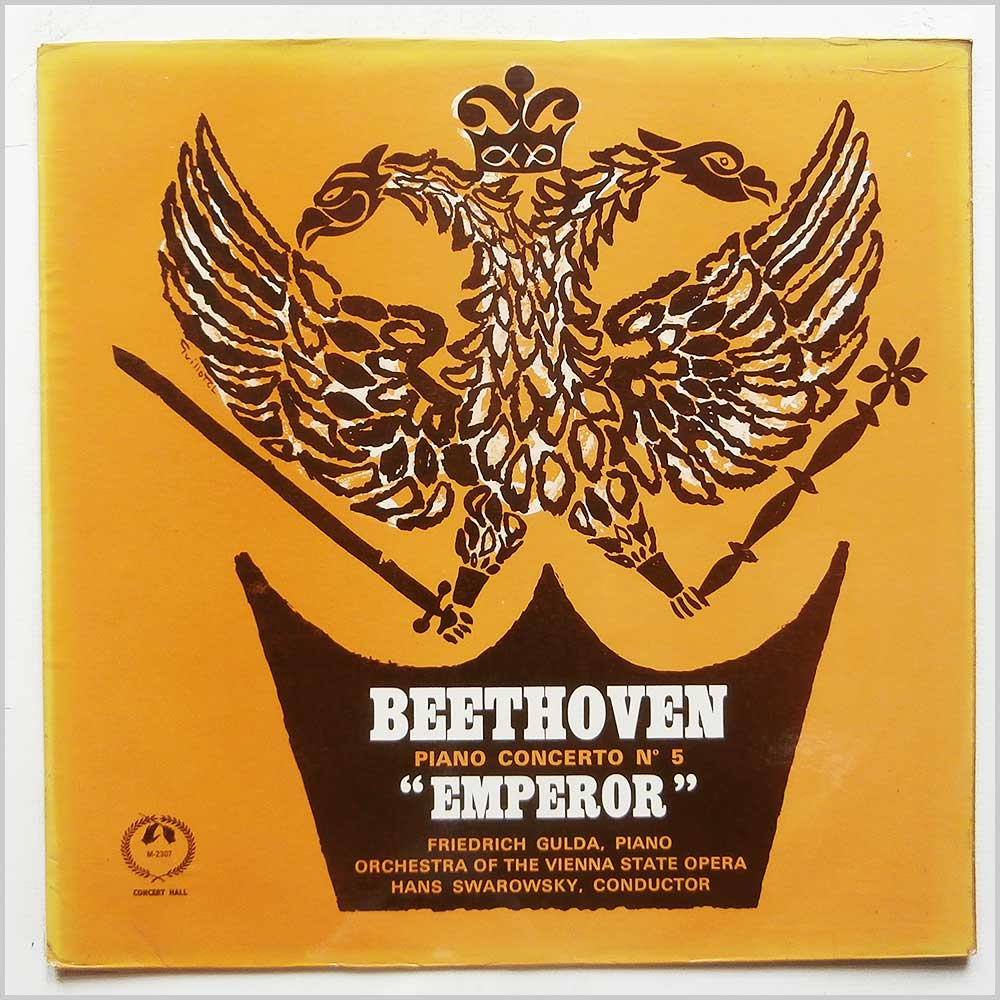 Friedrich Gulda, Orchestra Of The Vienna State Opera - Beethoven: Piano Concerto No 5 Emperor (AM 2307)