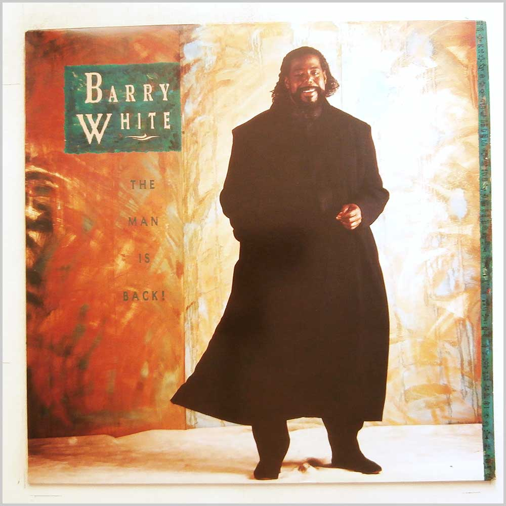 Barry White - The Man Is Back (AMA 5256)