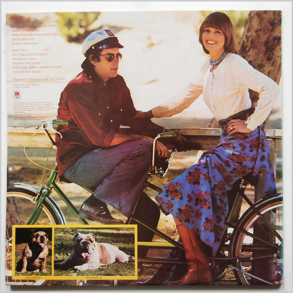 Captain and Tennille - Songs Of Joy (AMLH 64570)