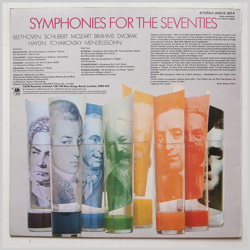 Waldo De Los Rios - Symphonies For The Seventies (AMLS 2014)
