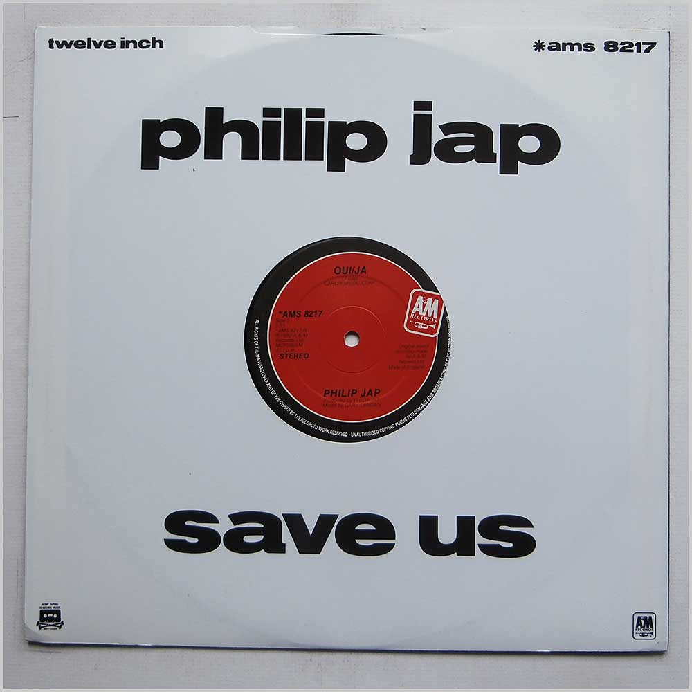 Philip Jap - Save Us (AMS 8217)