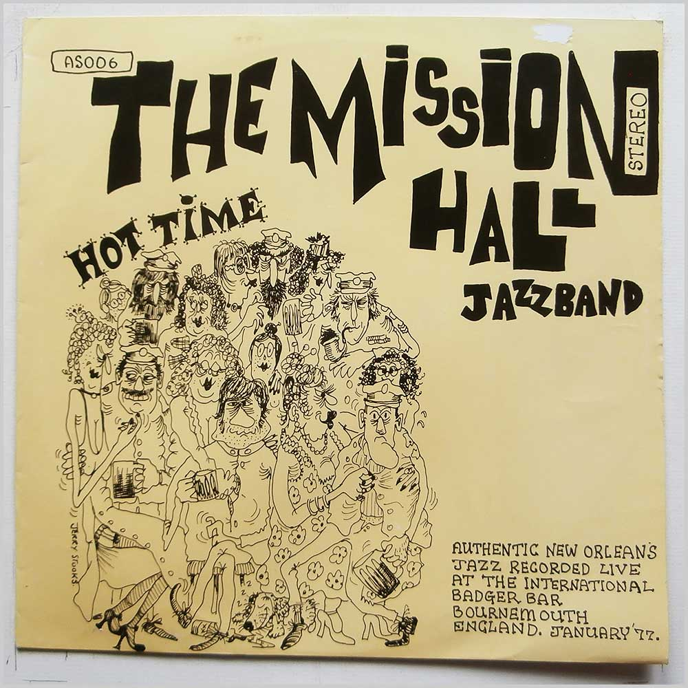 The Mission Hall Jazz Band - Hot Time (AS006)