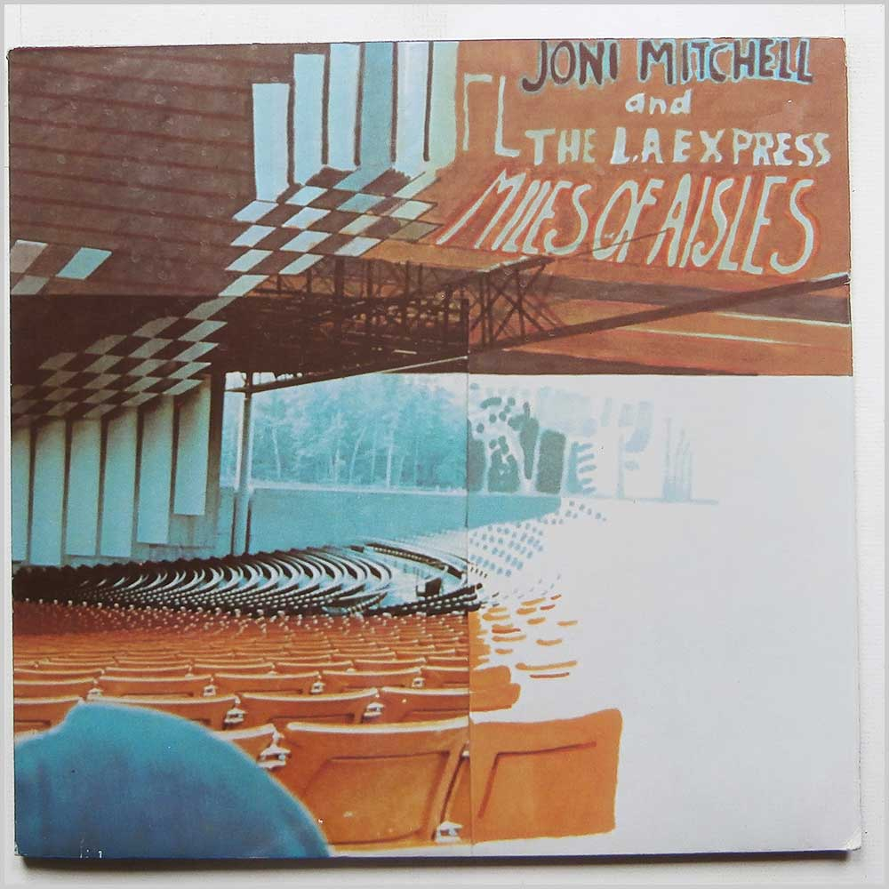 Joni Mitchell - Miles Of Aisles (AS 63 001)