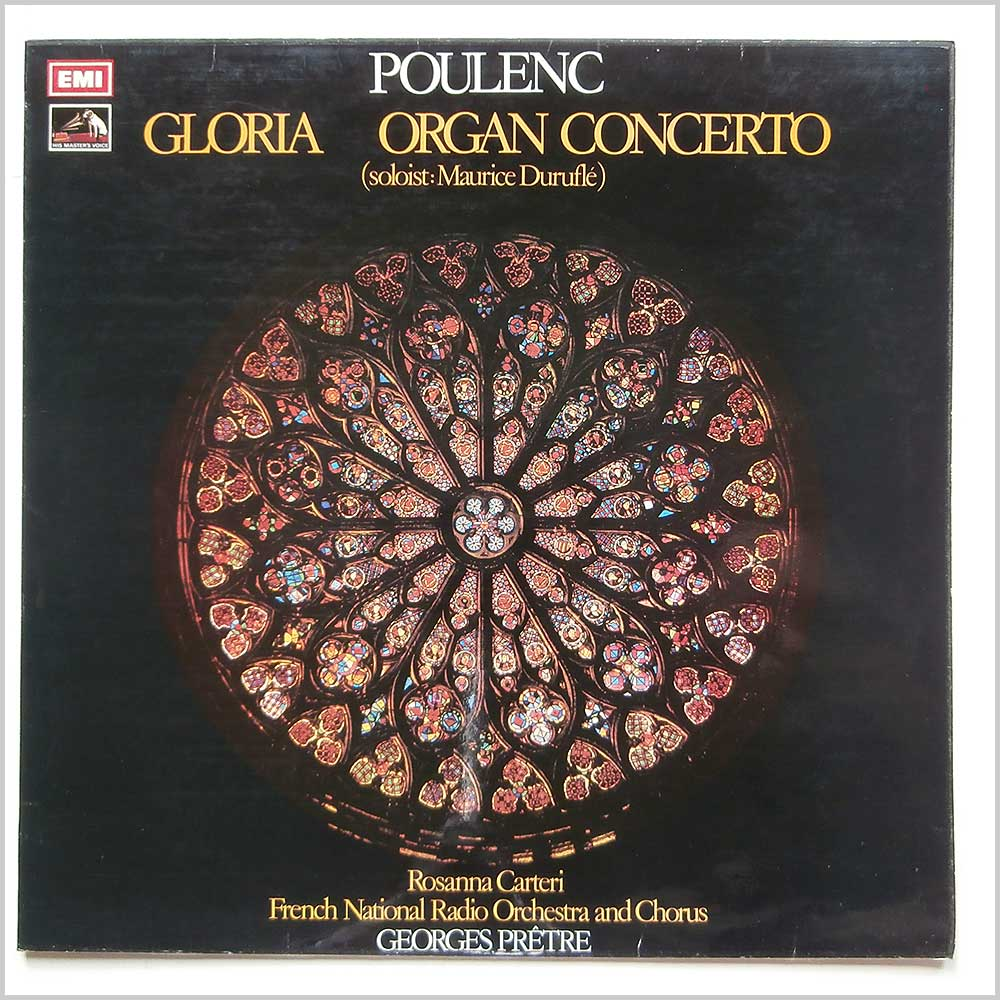 French National Radio Orchestra and Chorus - Poulenc: Gloria, Organ Concerto (ASD 2835)