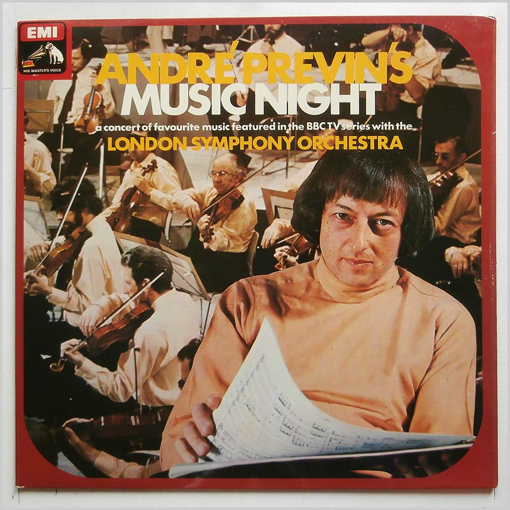 Andre Previn, London Symphony Orchestra - Andre Previn's Music Night (ASD3131)