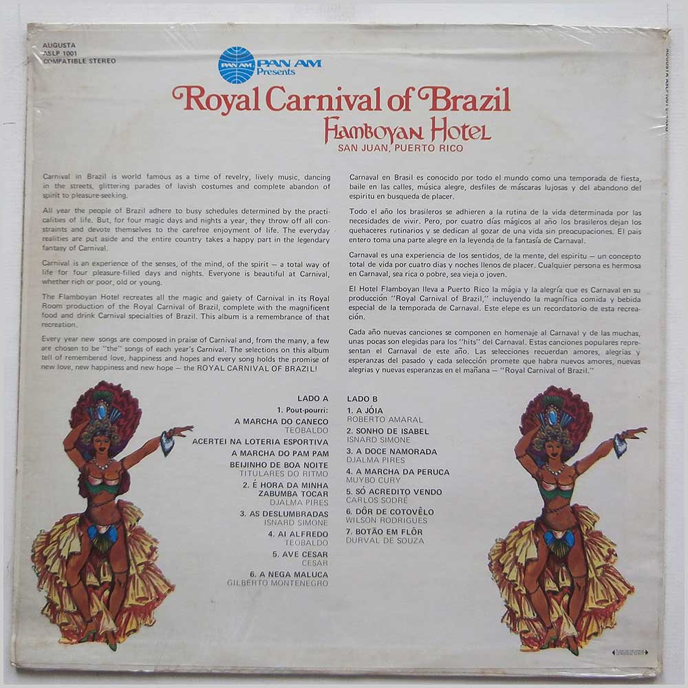 Various - Pan Am Presents Royal Carnival Of Brazil Flamboyan Hotel (ASLP 1001)