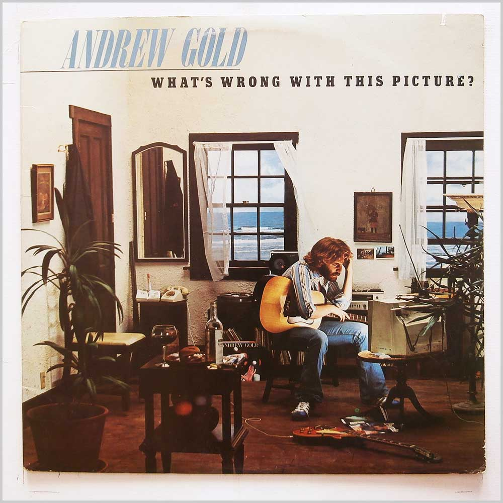 Andrew Gold - What's Wrong With This Picture (ASYLUM 7E-1086)