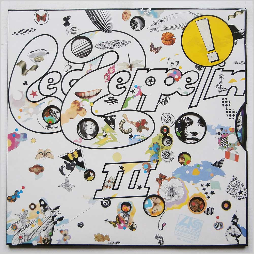 Led Zeppelin - Led Zeppelin III (ATL 50 002)