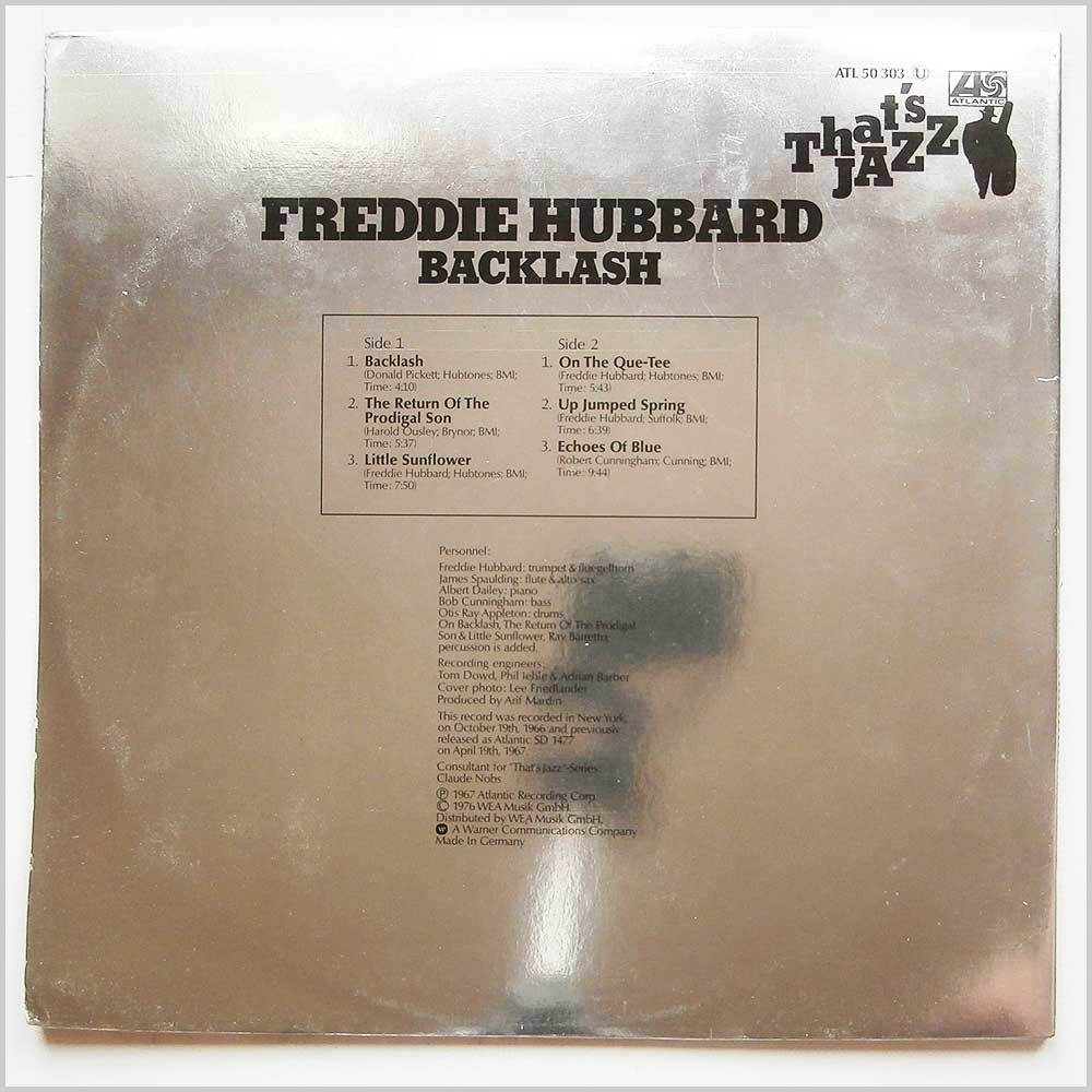 Freddie Hubbard - That's Jazz: Backlash (ATL 50 303)