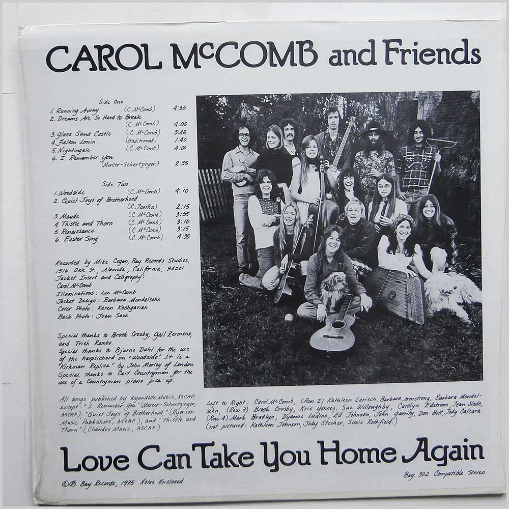 Carol McComb and Friends  - Love Can Take You Home Again (BAY 302)