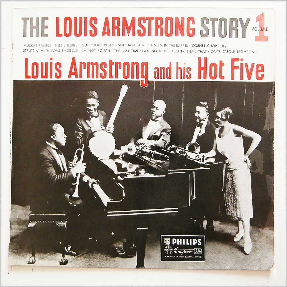 Louis Armstrong and His Hot Five - The Louis Armstrong Story Volume 1 (BBL 7134)