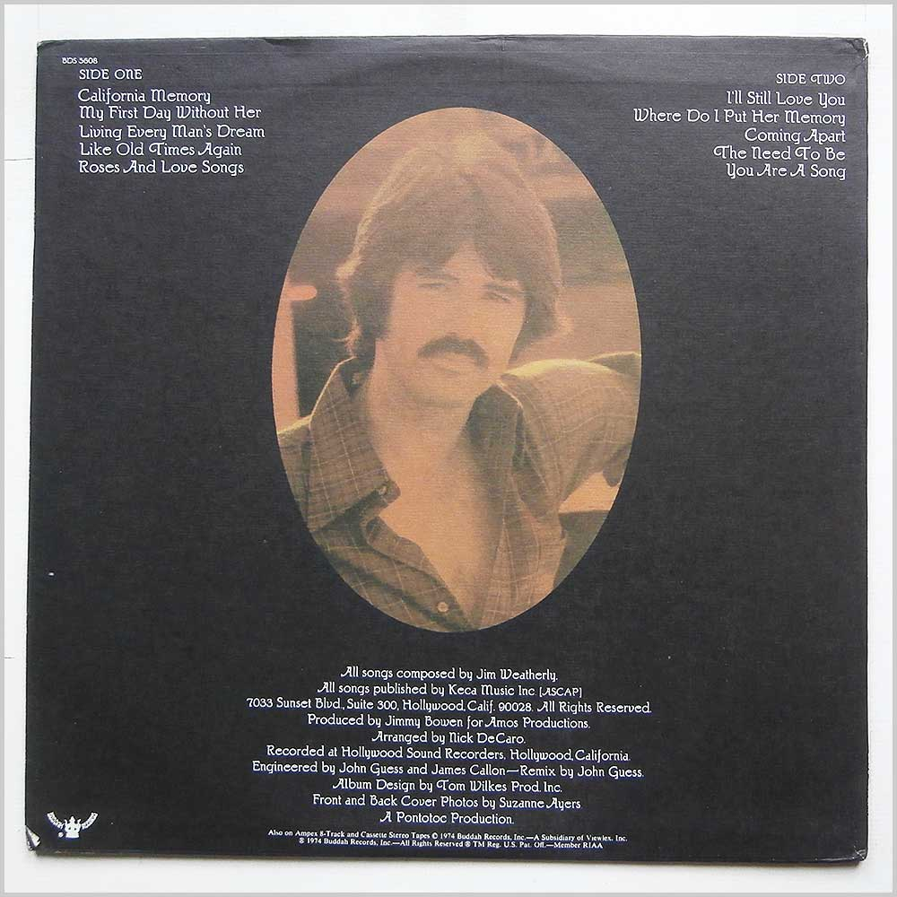 Jim Weatherly - The Songs Of Jim Weatherly (BDS 5608)