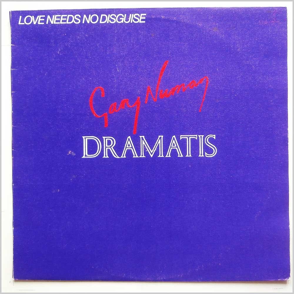 Gary Numan, Dramatis - Love Needs No Disguise (BEG 68T)