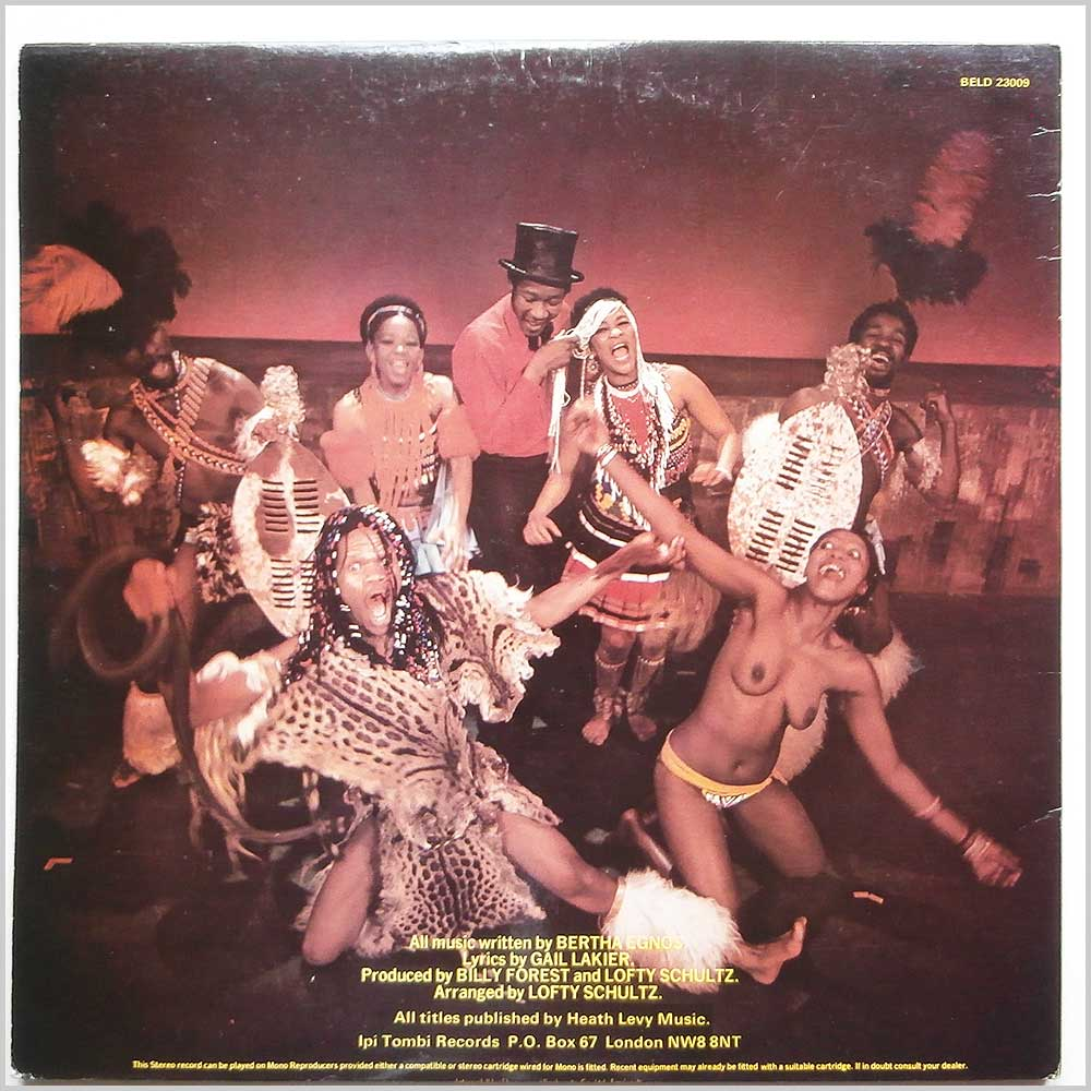 Bertha Egnos and Gail Lakier - Bertha Egnos And Gail Lakier's Ipi-Tombi: Original Cast Recording (BELD 23009)