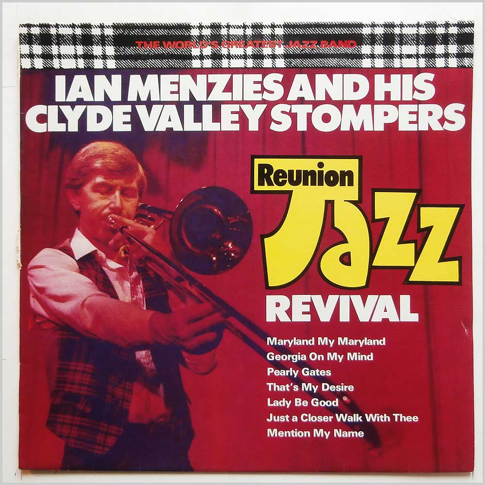 Ian Menzeis And His Clyde Valley Stompers - Reunion Jazz Revival (BGC 307)