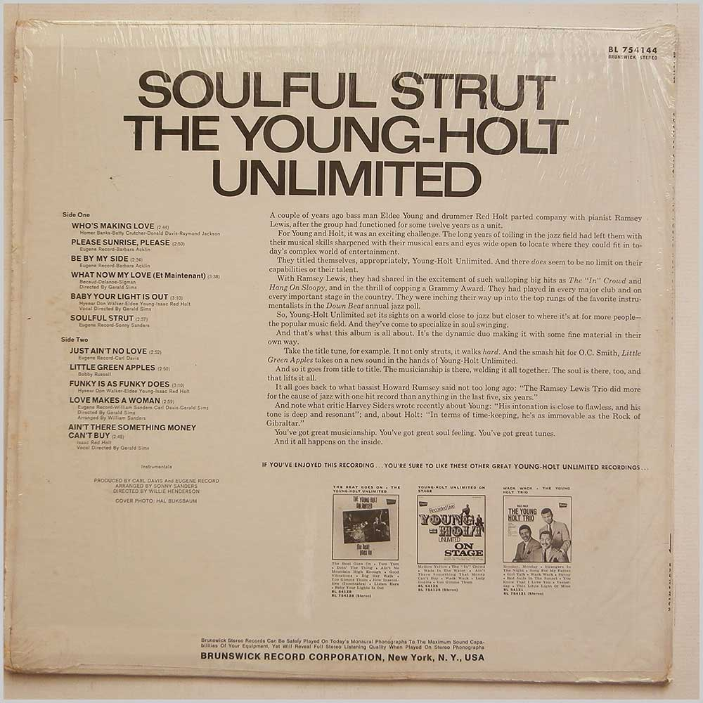 The Young-Holt Unlimited - Soulful Strut (BL 754144)