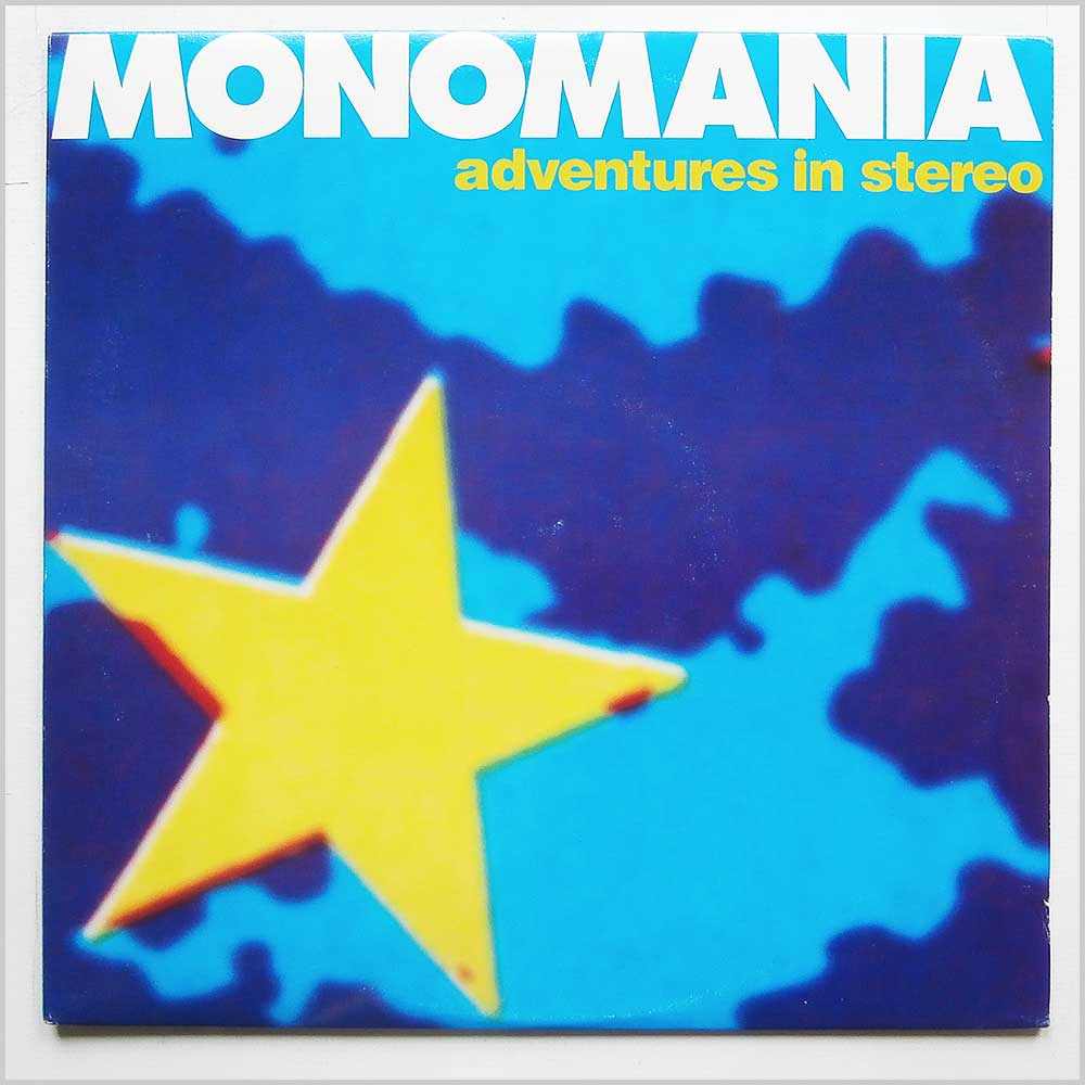 Adventures In Stereo - Monomania (BOB-11)