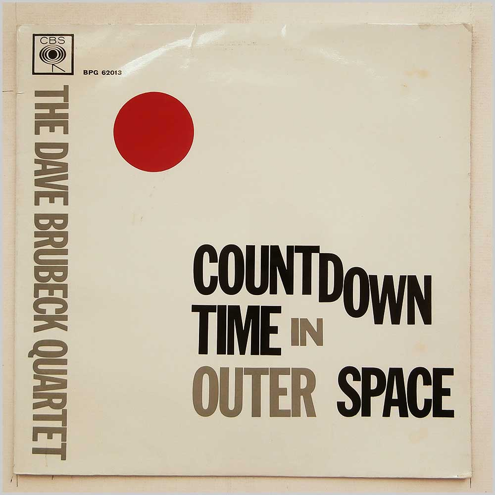 The Dave Brubeck Quartet - Countdown Time In Outer Space (BPG 62013)
