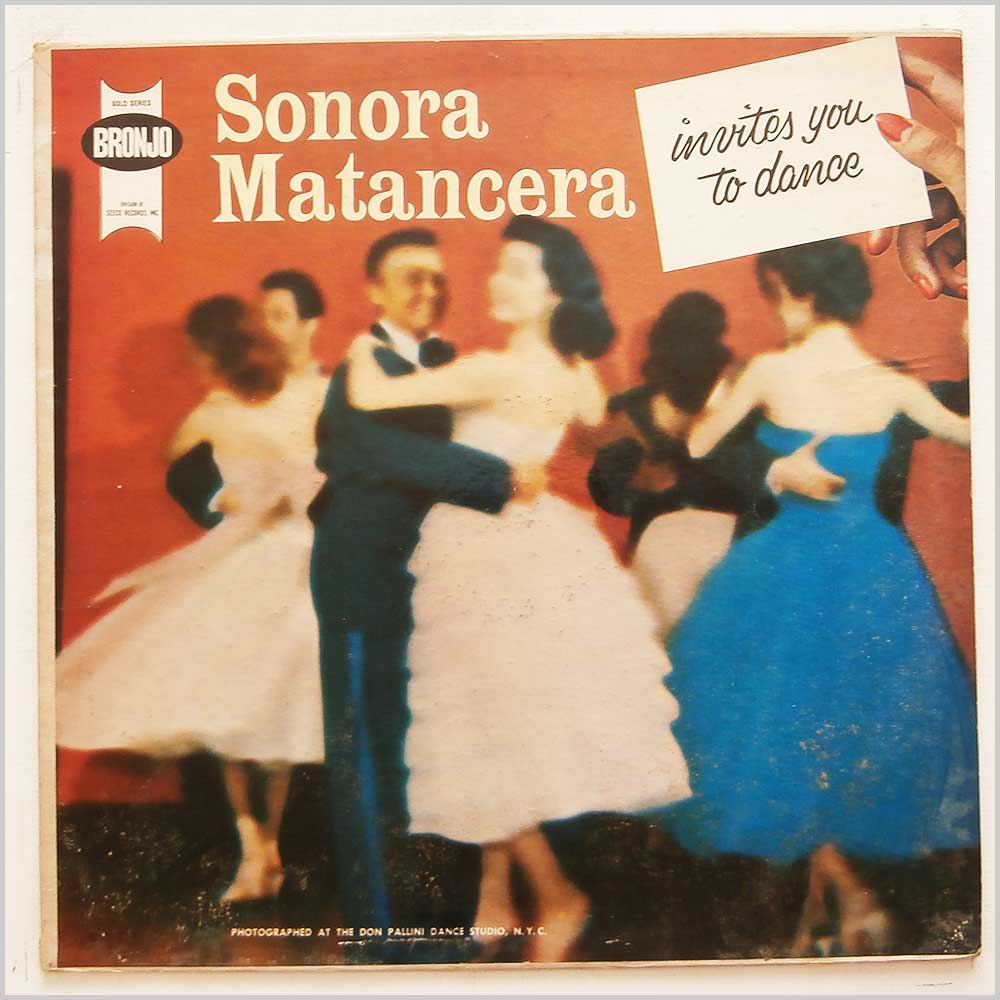 Sonora Matancera - Sonora Matancera Invites You To Dance (BR 114)