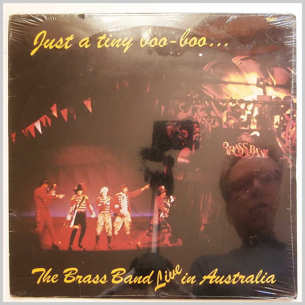 The Brass Band - Just A Tiny Boo Boo: The Brass Band Live In Australia (BR 8109)