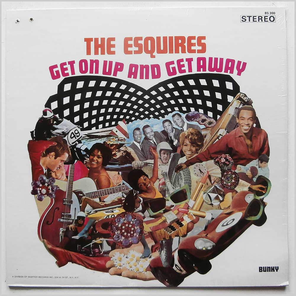 The Esquires - Get On Up and  Get Away (BS 300)