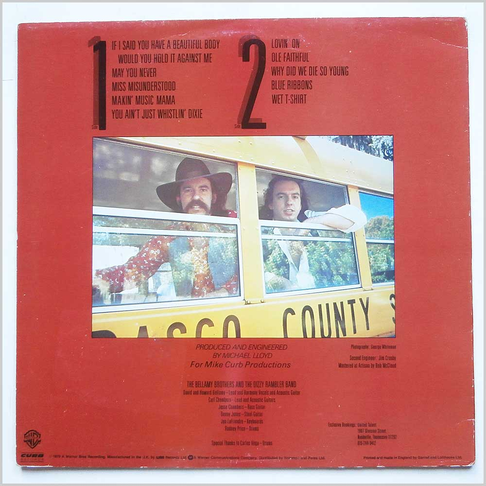 The Bellamy Brothers - The Two And Only (BSK 3347)