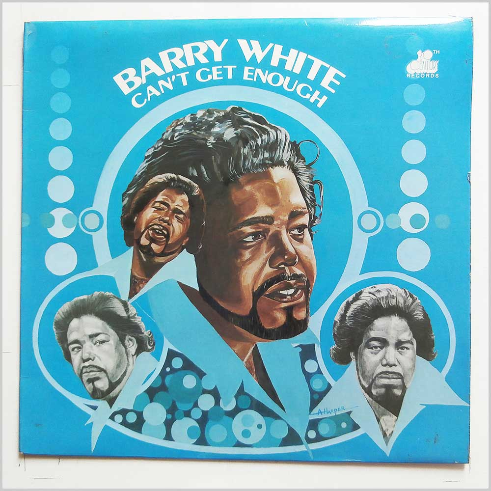 Barry White - Can't Get Enough (BT444)