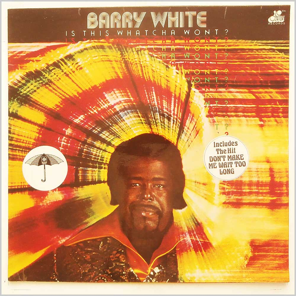 Barry White - Is This Whatcha Wont? (BTH 516)