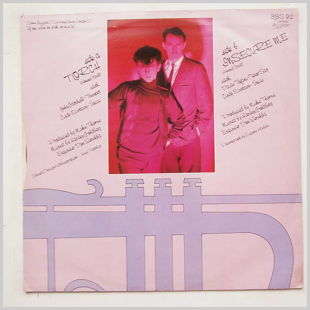 Soft Cell - Torch (BZS 912)