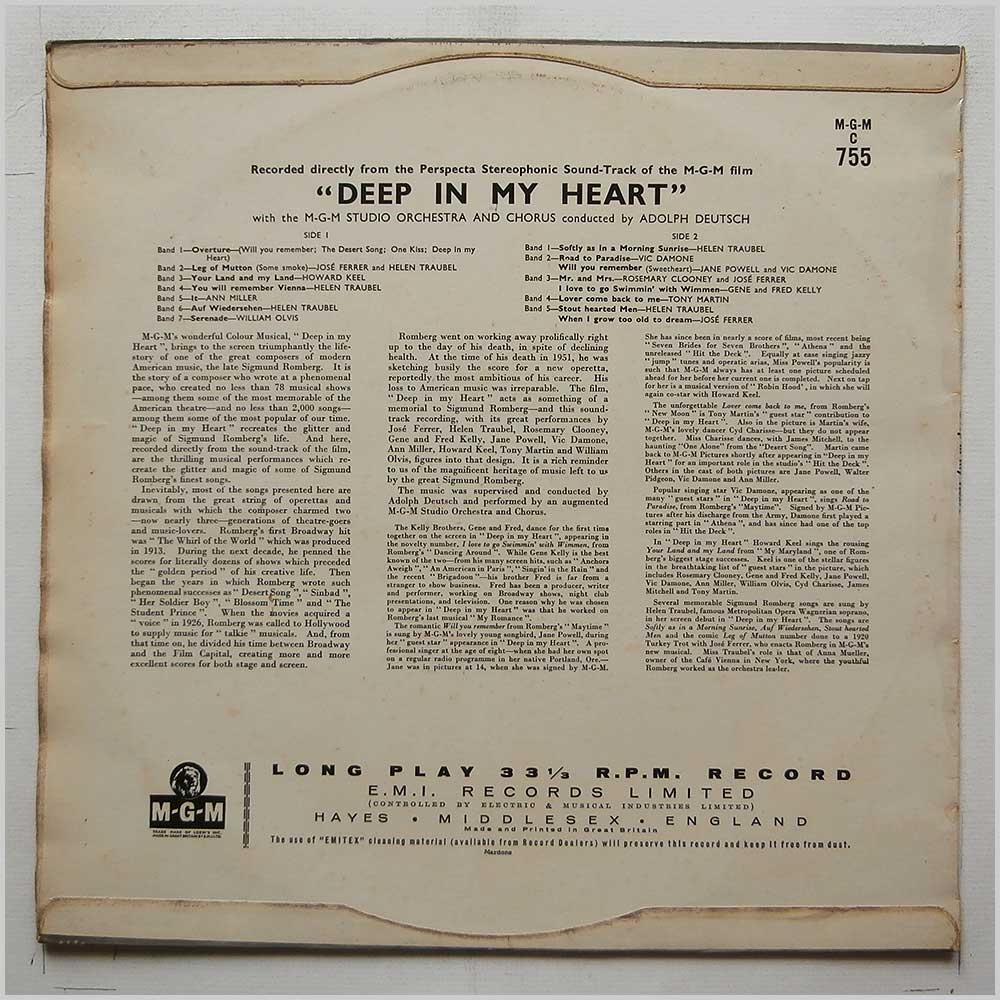 Various - Deep In My Heart (C 755)