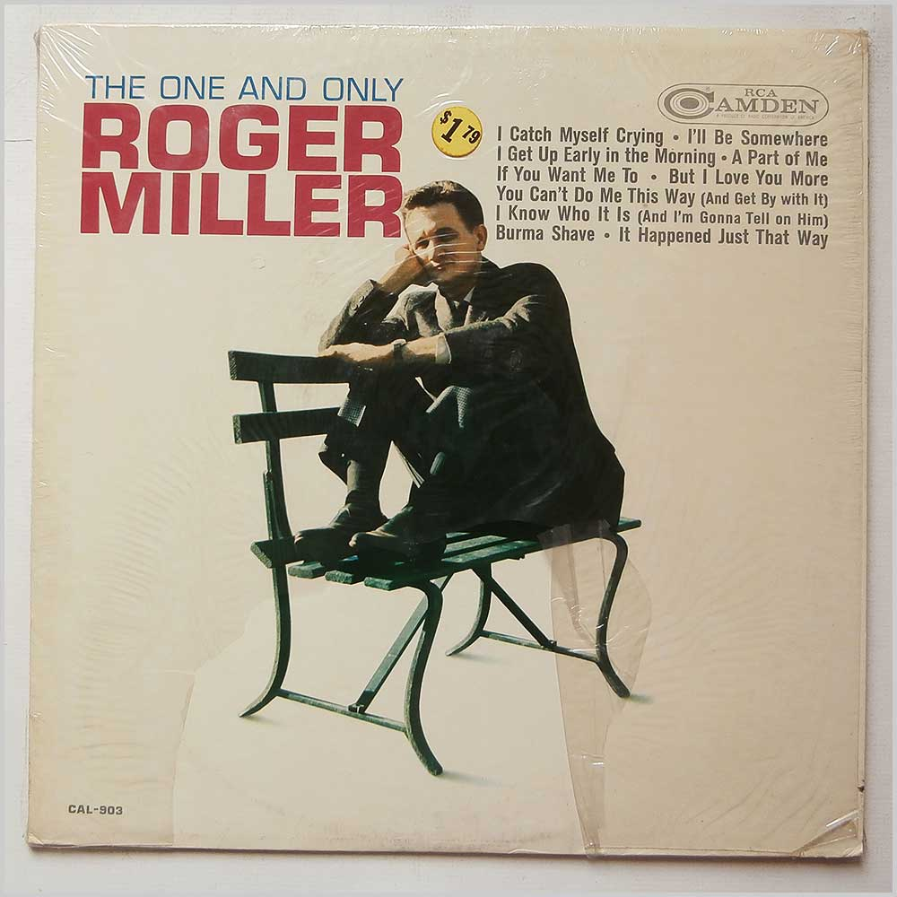 Roger Miller - The One And Only Roger Miller (CAL-903)