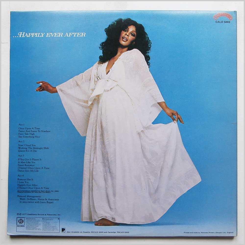 Donna Summer - Once Upon A Time (CALD 5003)
