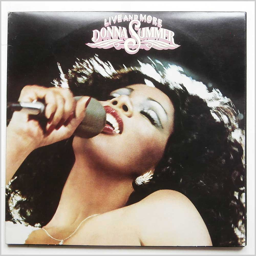 Donna Summer - Live And More (CALD 5006)