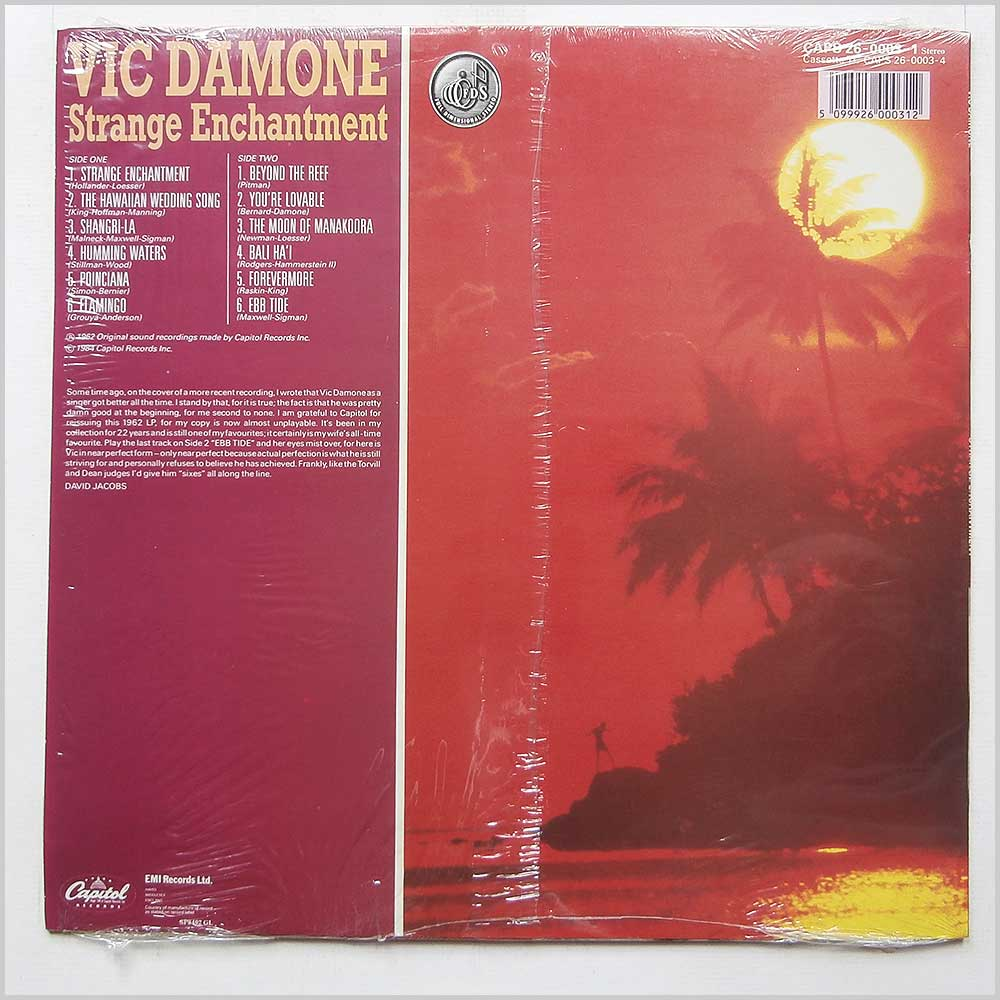 Vic Damone - Strange Enchantment (CAPS 26-0003-1)