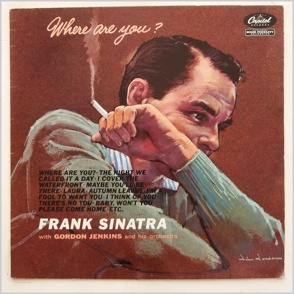 Frank Sinatra - Where Are You? (CAPS 26-0018-1)