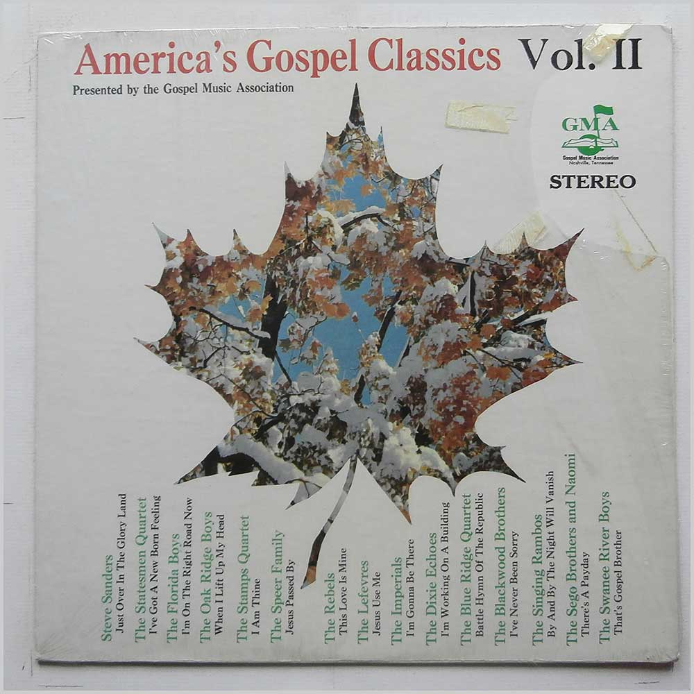 Gospel Music Association - America's Gospel Classics Vol. II (CAS 9659)