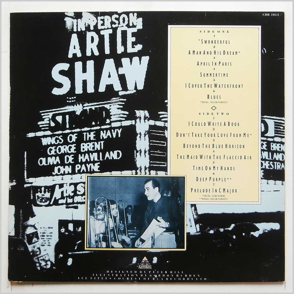Artie Shaw and His Orchestra - Artie Shaw (CBR 1013)