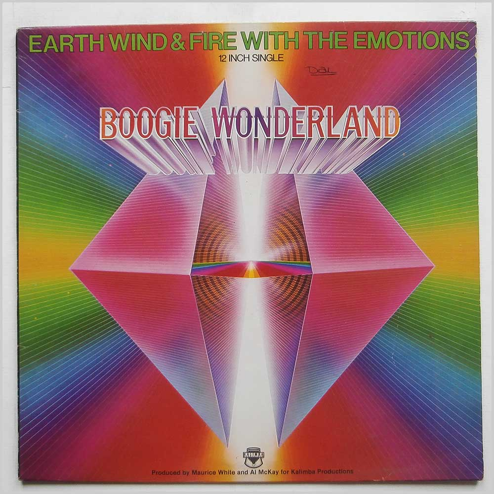 Earth, Wind and Fire - Boogie Wonderland (CBS 12-7292)