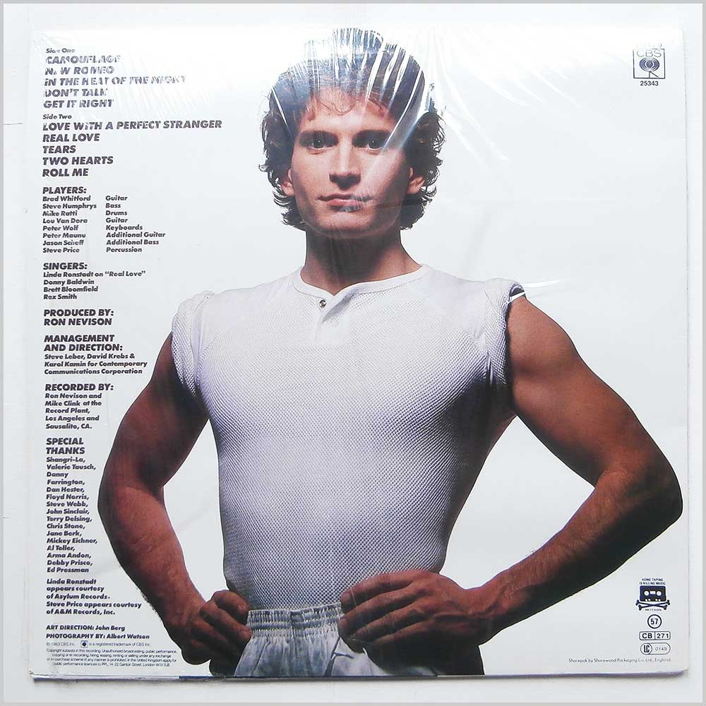 Rex Smith - Camouflage (CBS 25343)