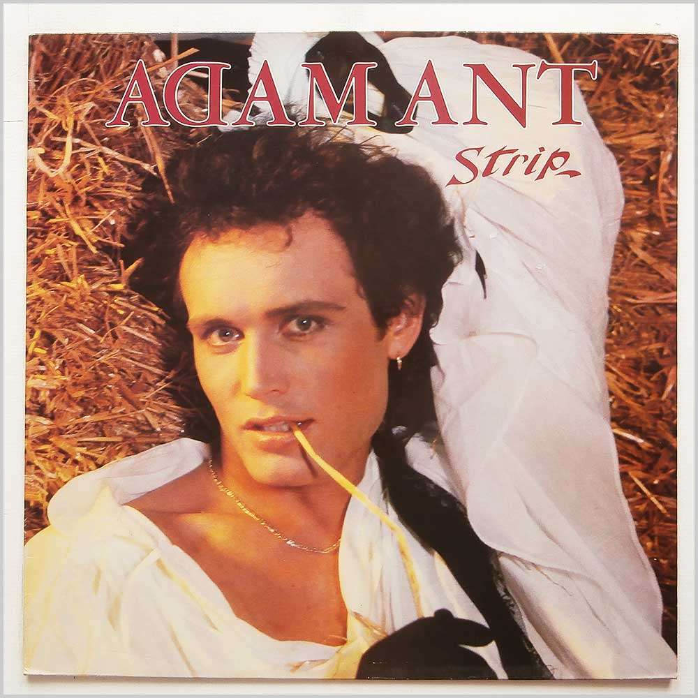 Adam Ant - Strip (CBS 25705)