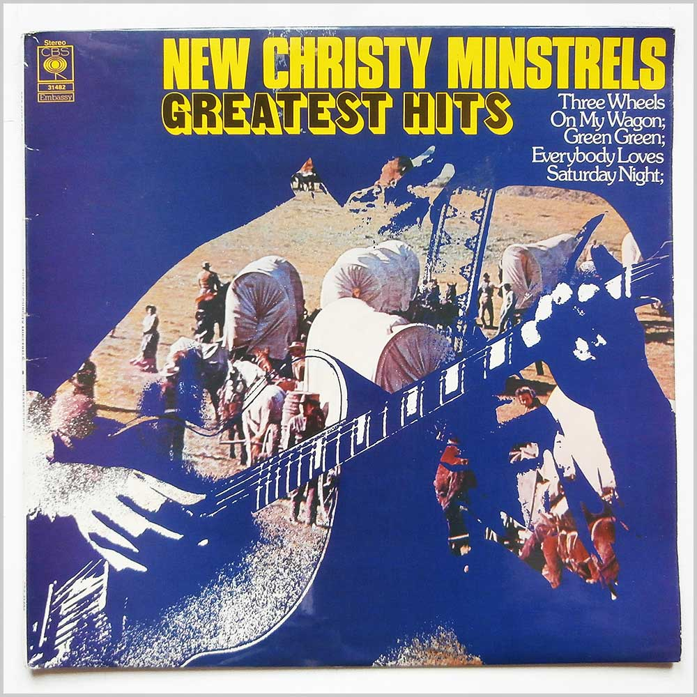The New Christy Minstrels - Greatest Hits (CBS 31482)