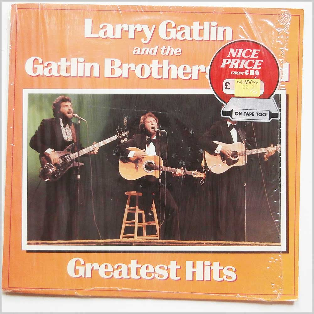 Larry Gatlin and The Gatlin Brothers Band - Greatest Hits (CBS 32129)