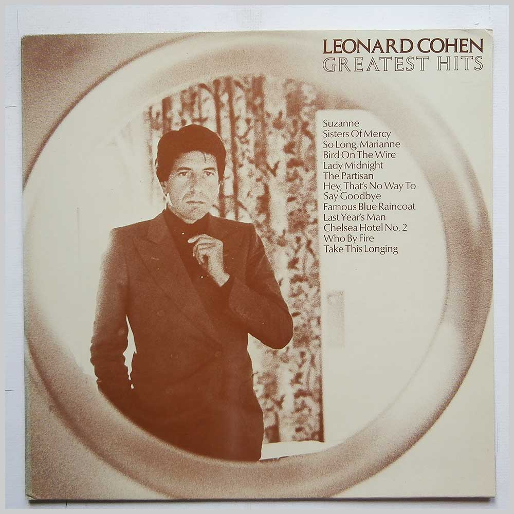 Leonard Cohen - Greatest Hits (CBS 32644)