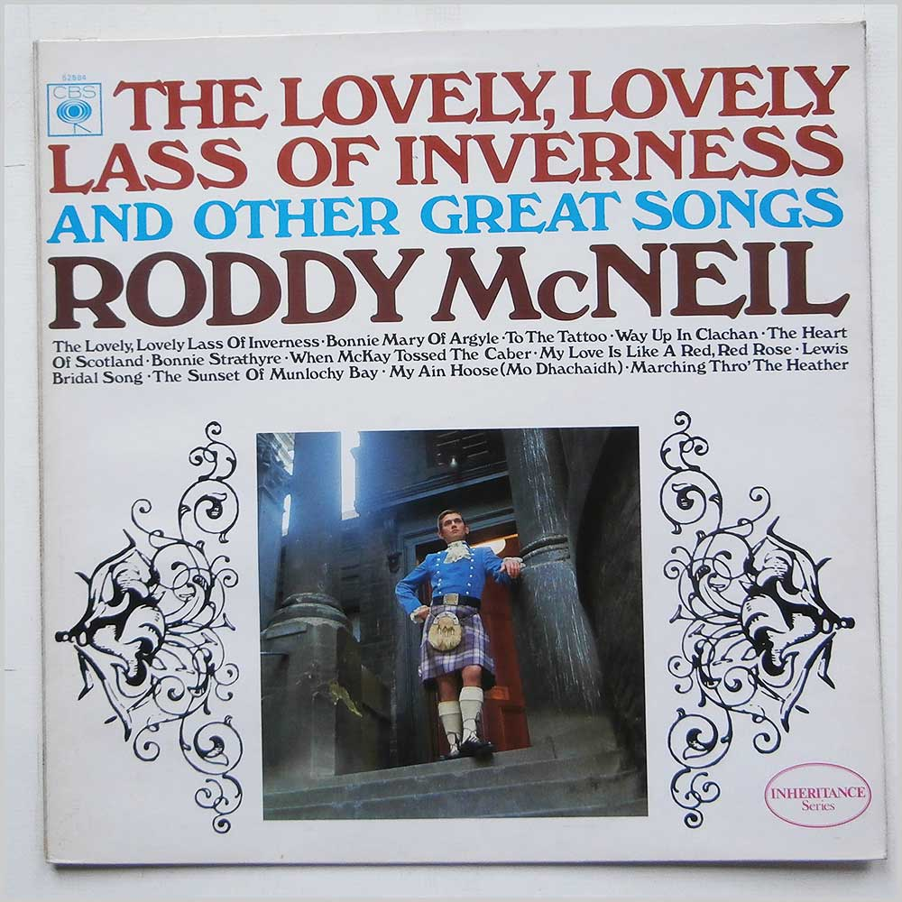 Roddy McNeil - The Lovely, Lovely Lass Of Inverness And Other Great Songs (CBS 52584)