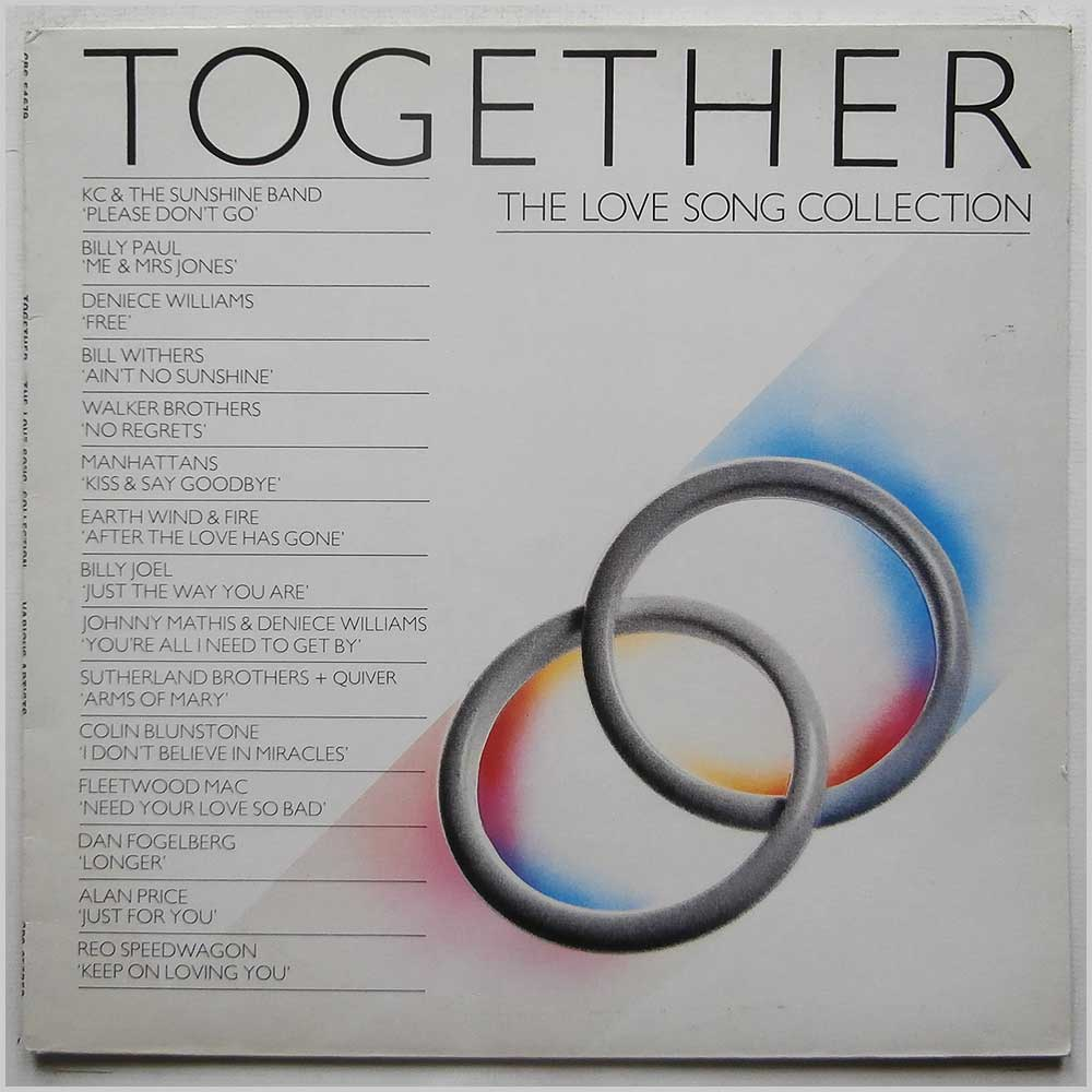 Various - Together The Love Song Collection (CBS 54679)