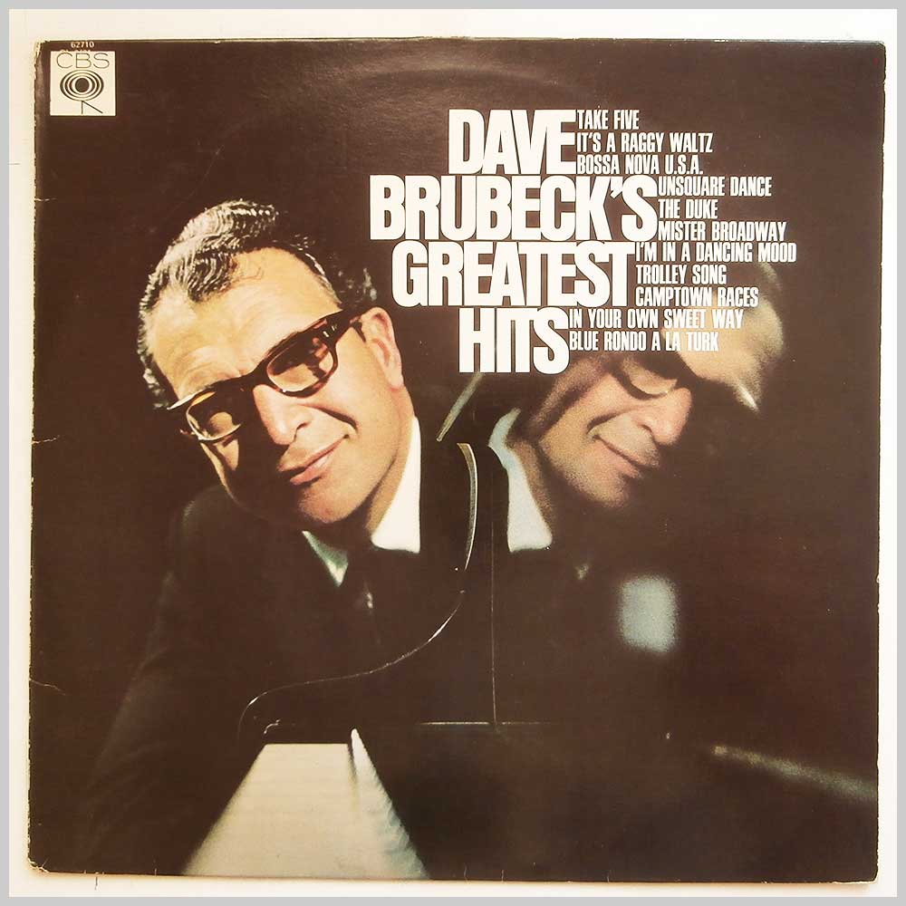Dave Brubeck - Dave Brubeck's Greatest Hits (CBS 62710)