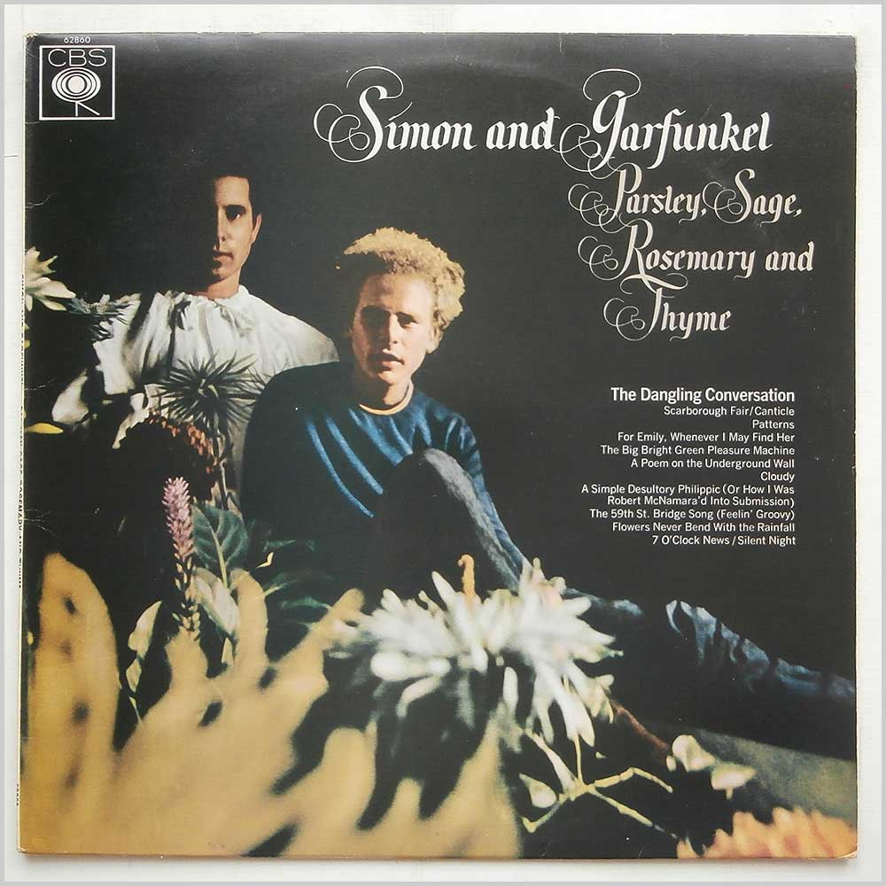 Simon and Garfunkel - Parsley, Sage , Rosemary And Thyme (CBS 62860)