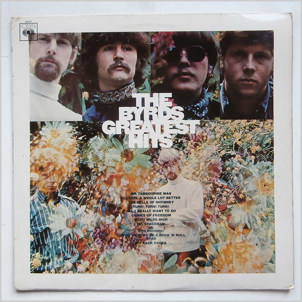 The Byrds - Greatest Hits (CBS 63107)