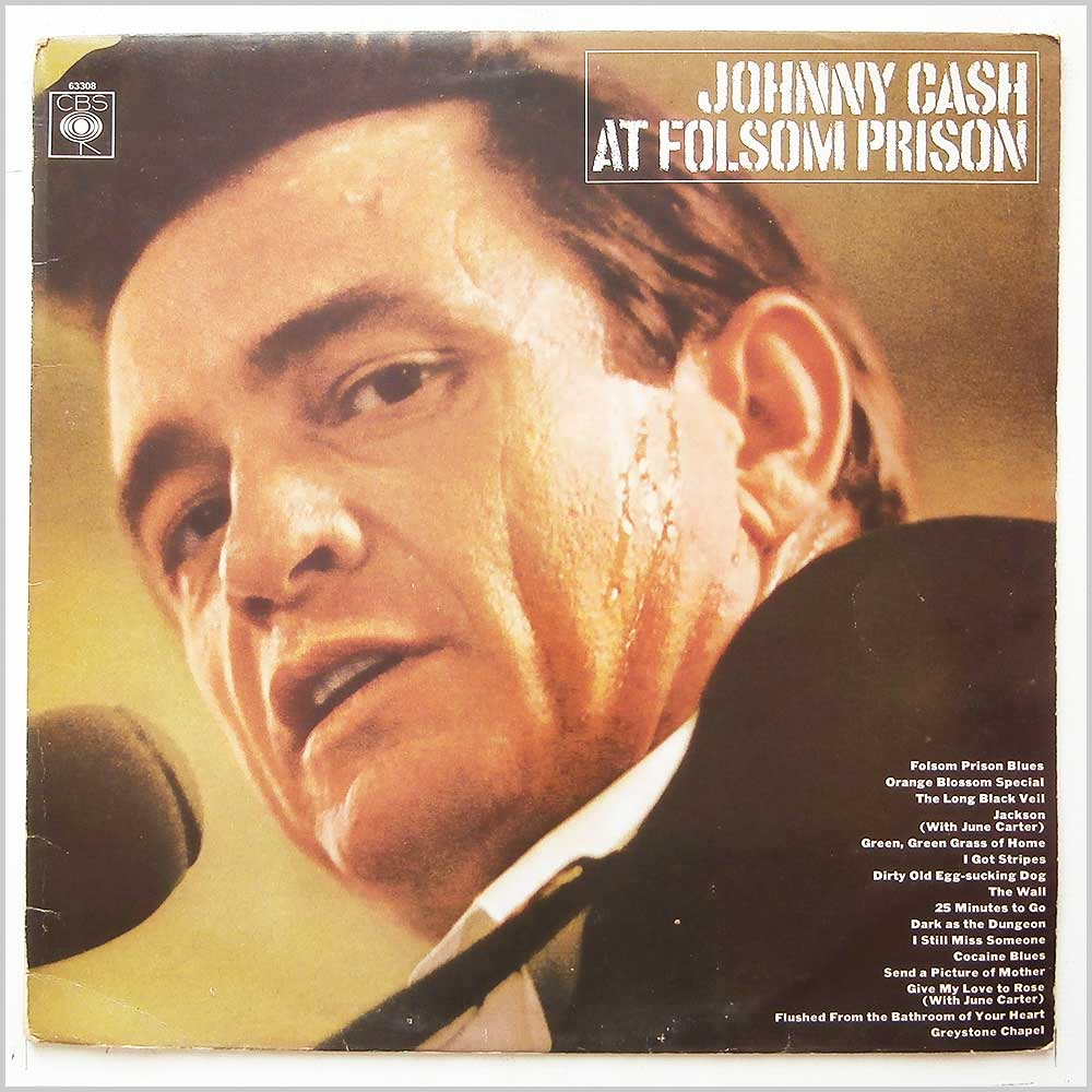 Johnny Cash - Johnny Cash At Folsom Prison (CBS 63308)