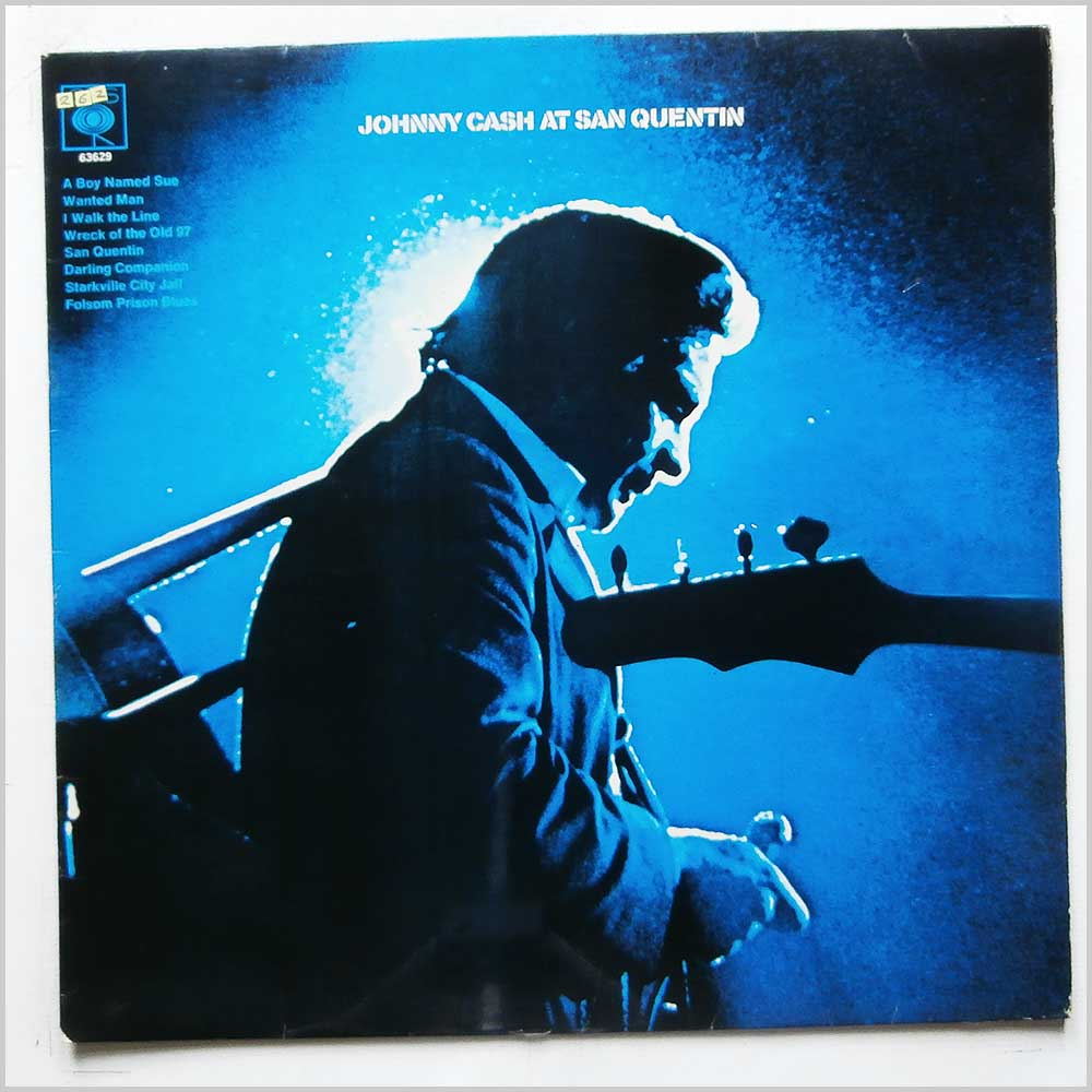 Johnny Cash - Johnny Cash At San Quentin (CBS 63629)